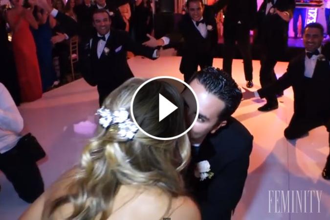 VIDEO: Úžasné prekvapenie na svadbe, ktoré zažije málokto: Pozrite sa, čo táto nevesta nepredýchala!