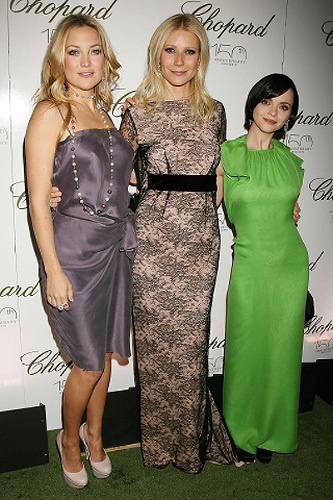 Kate Hudson, Gwyneth Paltrow a Christina Ricci