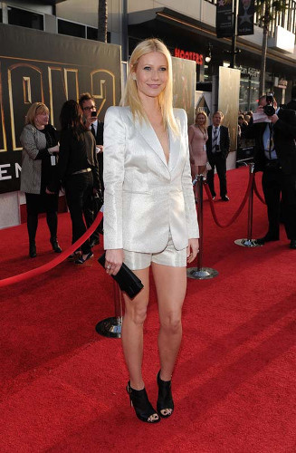 Premiéra filmu Iron Man 2, Gwyneth Paltrow.
