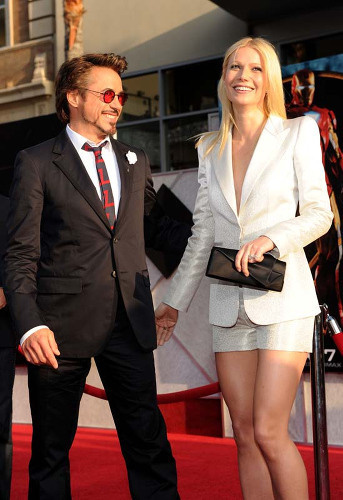 Premiéra filmu Iron Man 2, Robert Downey Jr. a Gwyneth Paltrow.