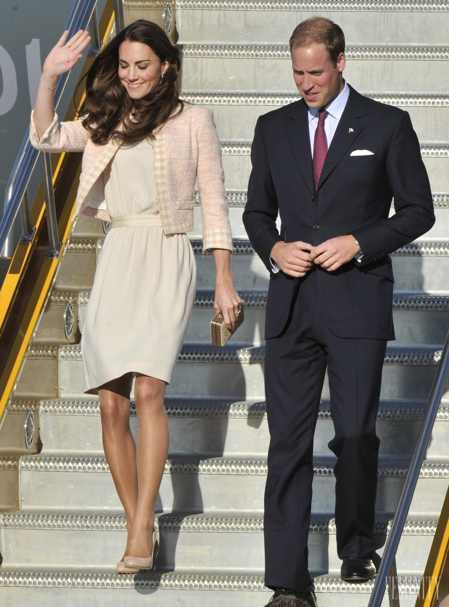 Kate Middleton spolu s princom Williamom