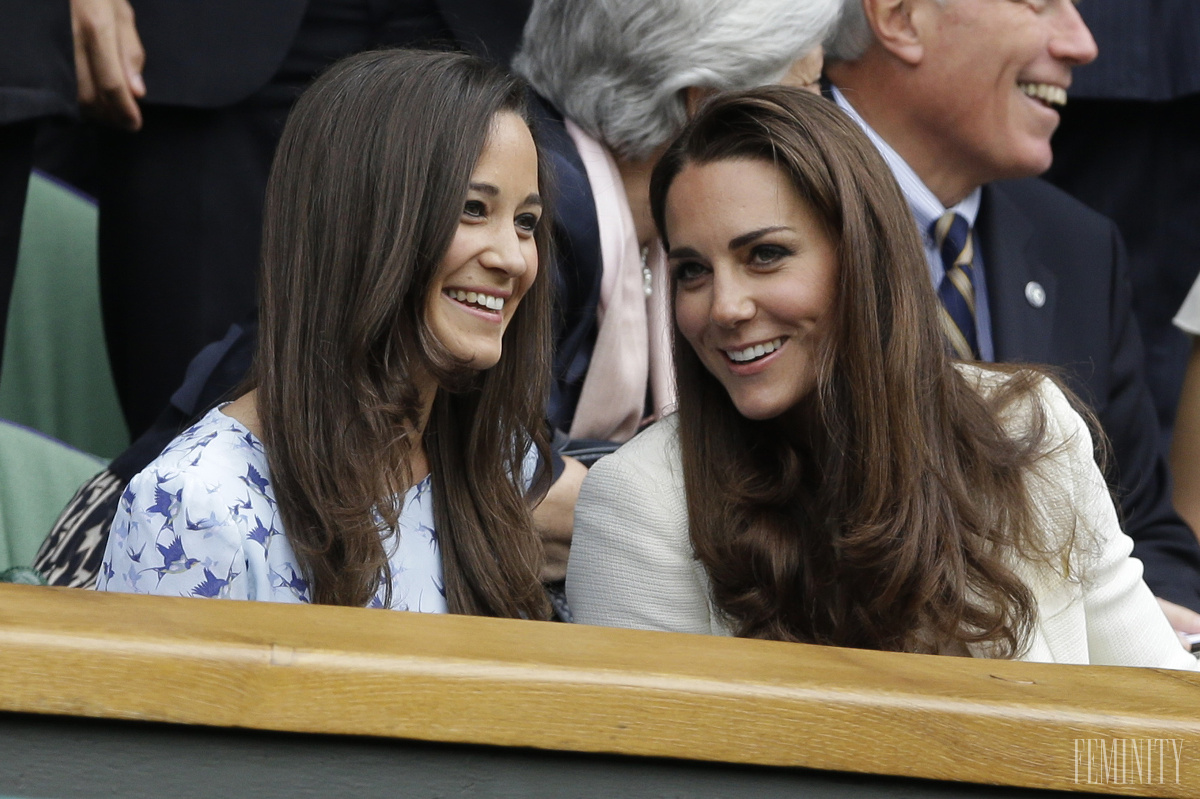 Sestry Pippa a Kate Middleton