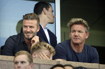 Gordon a David Beckham