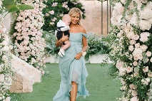 193c682e28 ... veľkolepej svadby · Aj mama nevesty si obliekla model od Alberty  Ferretti ...