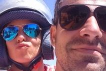 Nela a Filip si dopriali spoločný relax na Santorini a herečke sa tak splnil sen