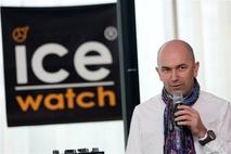 DJ MILAN LIESKOVSKÝ A MODELKA VANDA GALLO TVÁRAMI HODINIEK ICE-WATCH ... d22722a34e2