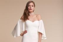 ... Krásne smotanové šaty s odhalenými ramenami sú skvelou voľbou na letné  svadby ... a722c950401
