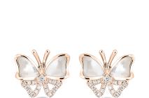 b4a66169c ... Náušnice ALO Butterfly Fairytale obsahujú zlato a perleť, sú nádherné  ...