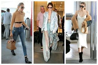 Gigi Hadid a jej najštýlovejšie outfity na cestovanie: Inšpirujte sa jej ležérnym štýlom, ktorý sme si zamilovali!