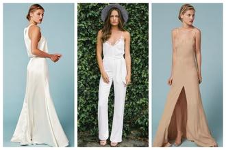 Trend minimalistických svadobných šiat: Ktoré z nich by ste si pokojne obliekli na svoj svadobný deň?
