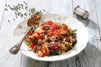 Pôsobivý letný obed: Vyskúšajte provensálske rizoto s cuketou a rajčinami