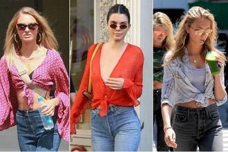 Uviažte si košeľu do trendy uzlíka: To, čo bolo donedávna OUT, sa opäť dostáva do módy