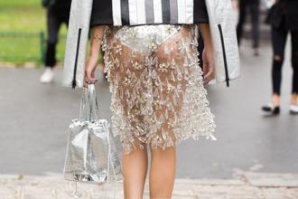 abcea43dc Svoje outfity si vyberajte práve na základe svojej radostnej nálady a  skúšajte sa pohrať aj s plastom či priehľadnou látkou.