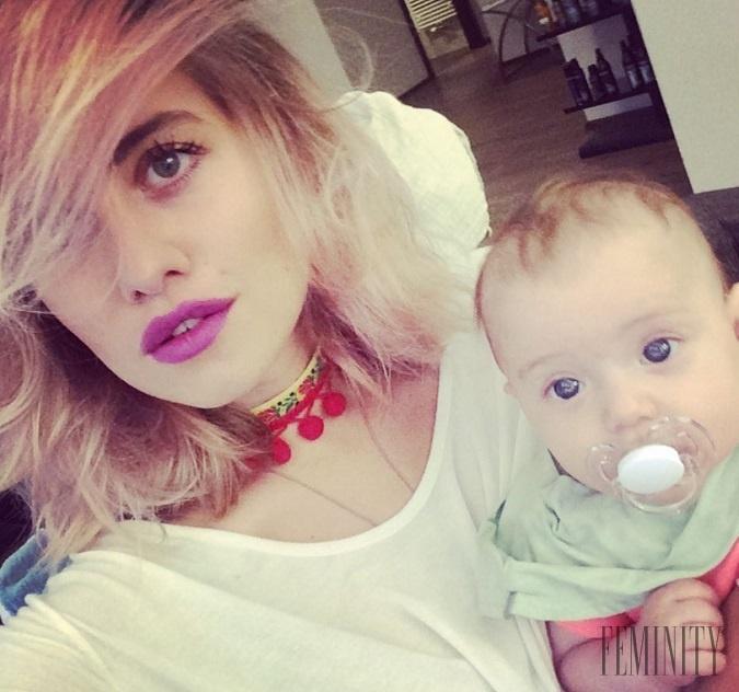 Materskú dovolenku si Emma