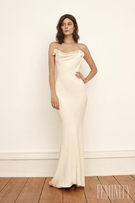 Dokonalé svadobné minimalistické šaty