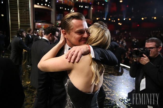 Kate a Leonardo sú