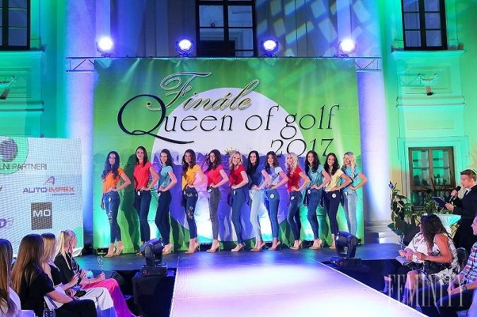 Finalistky Queen of Golf