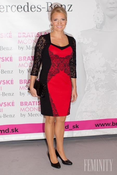 Moderátorka Aneta Parišková