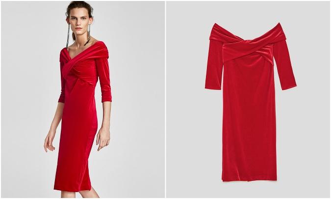 Červené šaty k vianočnému