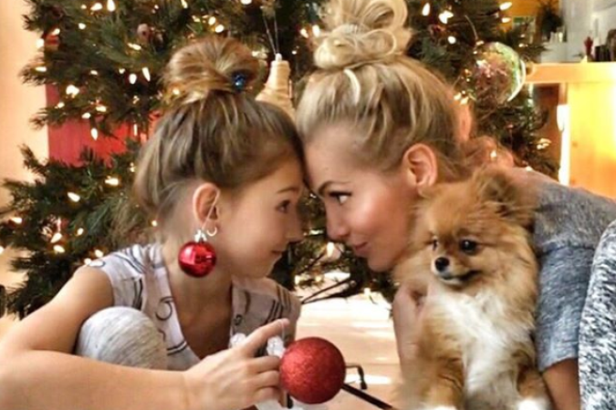 Dara Rolins s dcérkou