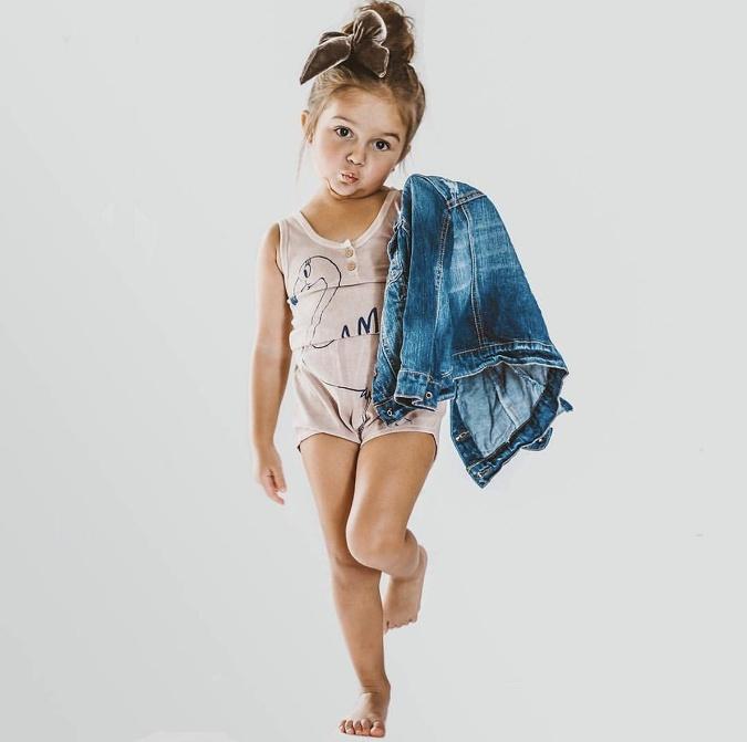 Dievčatko je naozaj čarovné