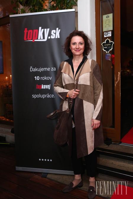 Herečka Zuzana Mauréry v