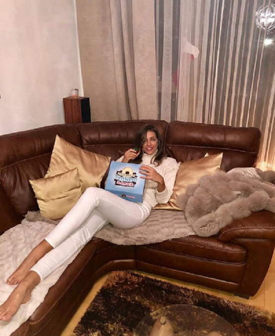 Moderátorka Fahion TV Jasmina