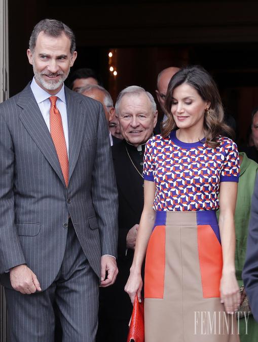 Kráľovná Letizia má módu