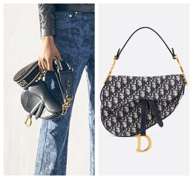 Saddle bag od Diora