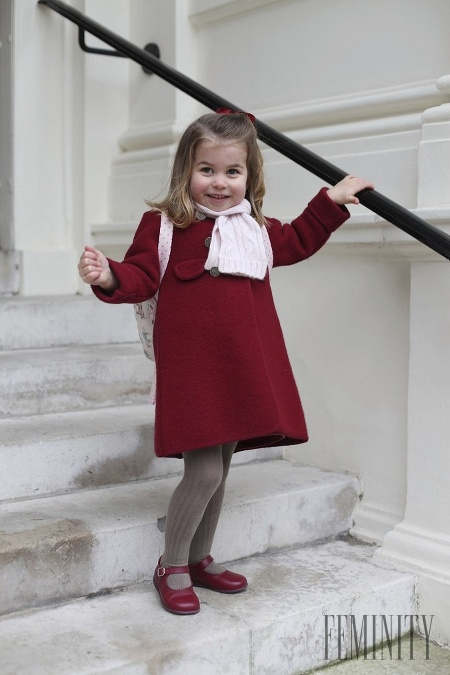 Ako malá princezná Charlotte