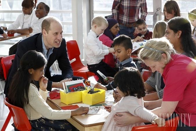 Princ William vtipne poznamenal,