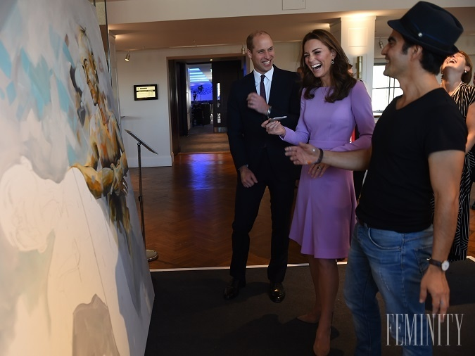 Vojvodkyňa Kate má umenie