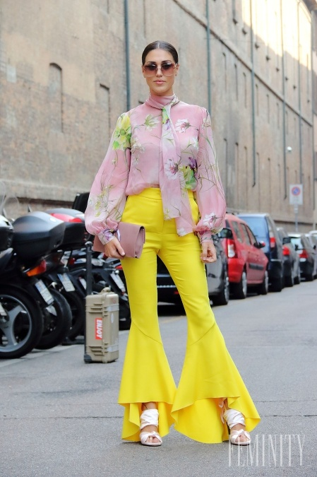 Žlto-ružová je kombináca, ktorá práve  v lete vynikne najviac