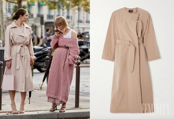 Trenčkot alebo sveter ako šaty