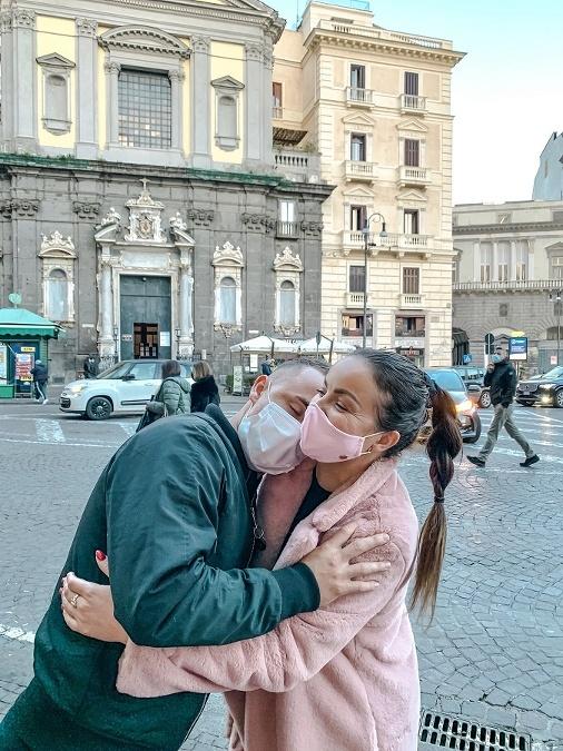 Daniela priznáva, že život s futbalistom je ťažký... jeden deň ste v Neapole a druhý môžete byť na celkom inom mieste.