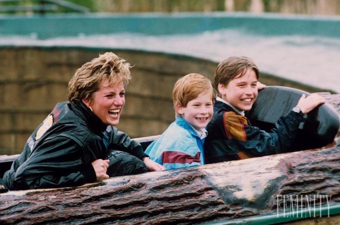 Princ Harry mal veľký vzor vo svojej mame, pre ktorú boli jej deti a blízki tým najcennejším