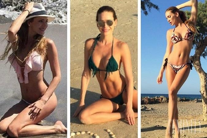 a28b2ac50 Takéto sexi plavky skrýva Andrea Verešová vo svojom letnom šatníku ...