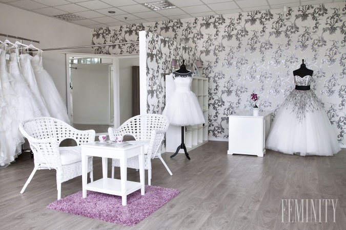 94958bdbdc19 Takto vyzerá svadobný salón Caroline´s v Bratislave