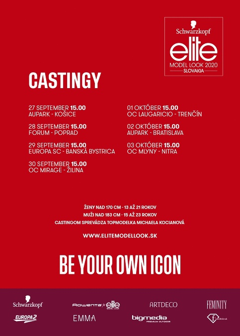 Elite Model look SK casting poster 2020