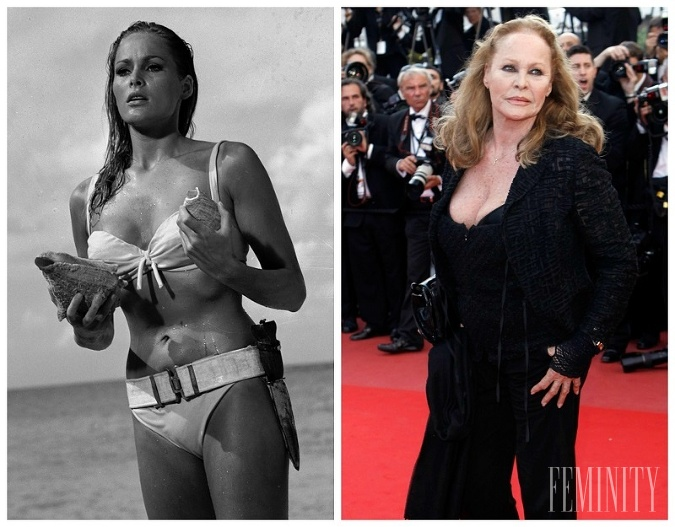 Herečka Ursula Andress si