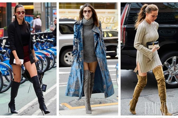691a1b11ac Čižmy nad kolená nikdy nevyjdú z módy  Dodajú outfitu kus ženskosti a muži  sa za