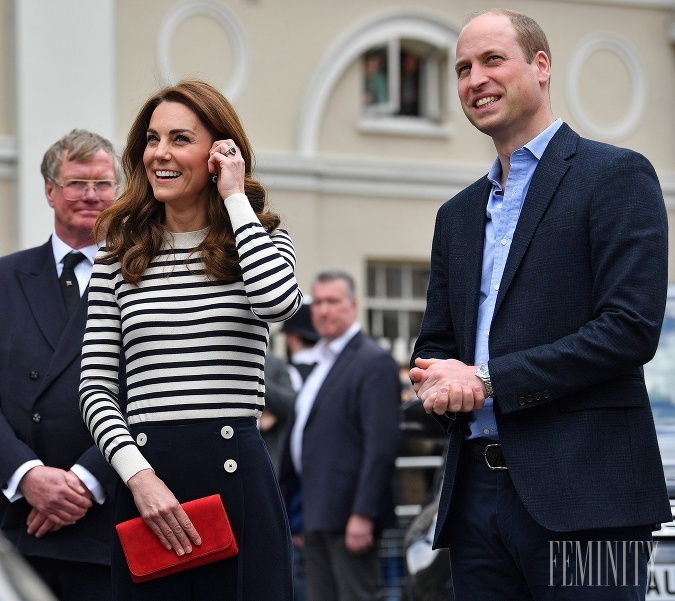 Kate a William pôsobia