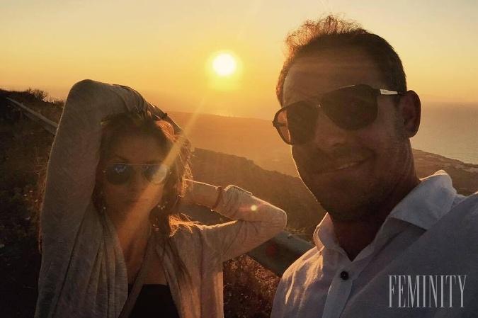Nela Pocisková a Filip Tůma na prekrásnom ostrove Santorini, ktorý bol herečkiným snom