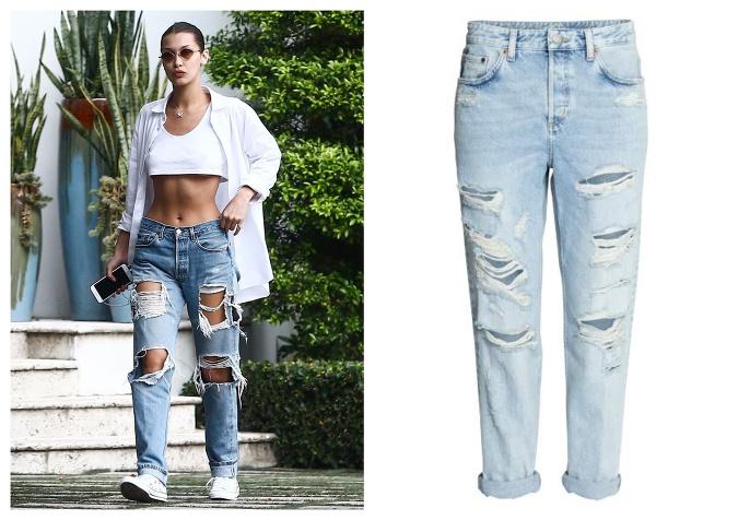 2e7b5cdb44d8 Najštýlovejšie džínsy posledného obdobia  Toto sa nosí v uliciach ...
