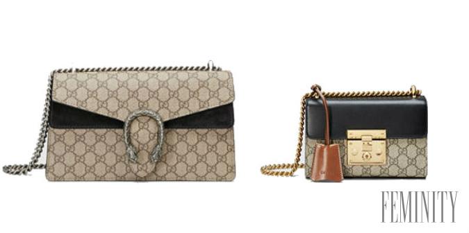 f63d8329fb Gucci kabelky s typickým motívom si zamilovali ženy po celom svete