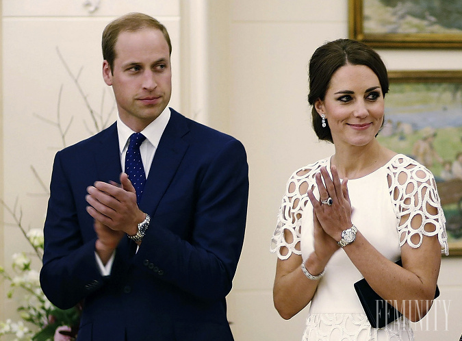 William a Kate sa
