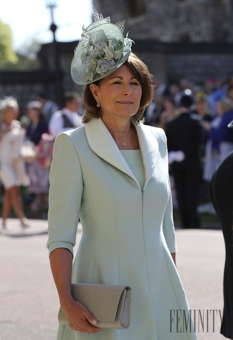 Carole Middleton chce, aby