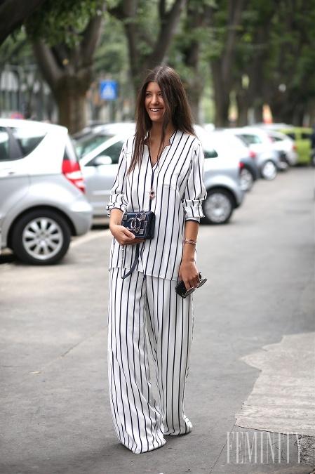 Streetstylové ikony z celého sveta počas fashion weekov bodovali aj v  pyžamových outfitoch 11d8ab6de77