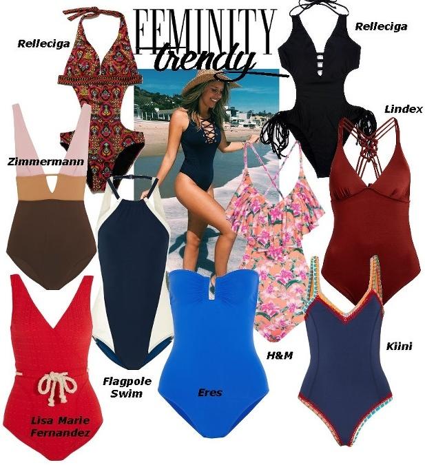 Jednodielne plavky ako základ denného stylingu  Zabodujte ... e41e982401