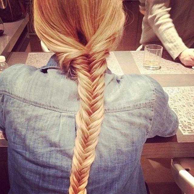 девушка с косой со спины картинки